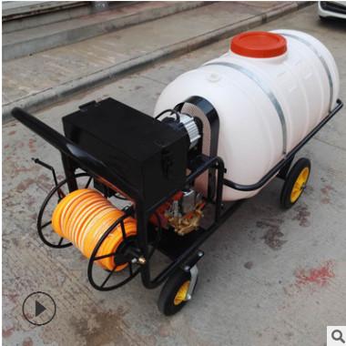 新款高射程汽油喷雾打药机 果园汽油打药机 手推式电动树木喷药机