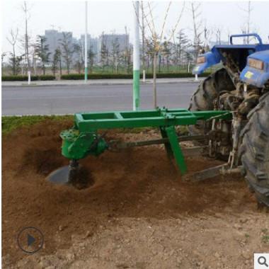农用汽油便携式挖树移苗机 手提二冲程篱笆打桩挖坑机 种树挖坑机