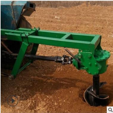 汽油手推式果树种植挖坑机 立柱式电线杆打动机 大型多功能挖坑机