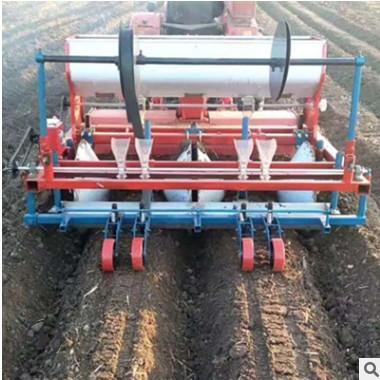 新型萝卜播种机 各种萝卜起垄播种机 四轮带动多行高效种植机