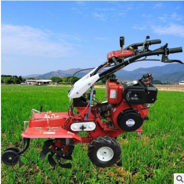 新型四轮微耕机变速箱 农用微型手扶微耕机配件 四驱风冷微耕机