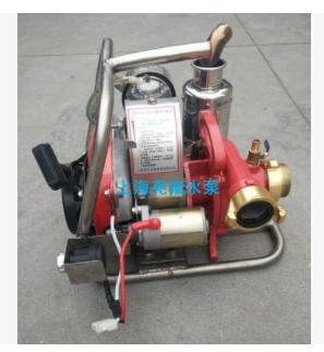 亮猫8马力汽油森林背负泵手抬单级离心泵防汛森林救援应急高压泵