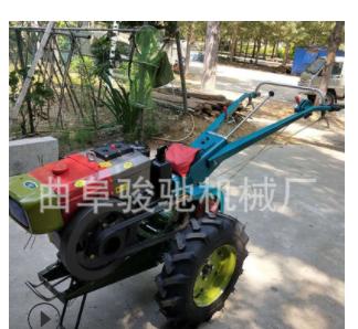 农用手扶翻地机 多功能柴油微耕机 10马力小型手扶拖拉机