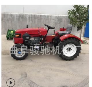 四轮驱动拖拉机 农用四轮拖拉机 28马力四轮拖拉机旋耕机