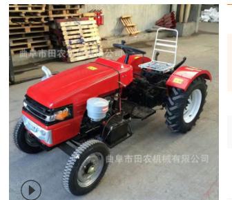 新型农用四轮小型拖拉机 液压助力后轮驱动轮式拖拉机 多少钱