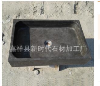 厂家直销石头洗手盆石头台上盆方形洗漱盆欧式台上盆面盆复古台盆