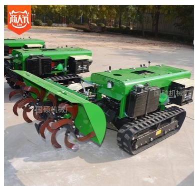 小型履带式锄草旋耕机 高效率果园除草机 葡萄园开沟施肥一体机