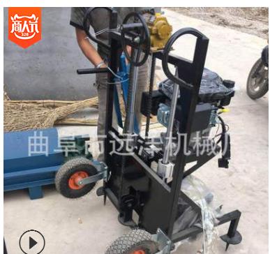 加工定做大型螺旋挖坑机 四轮拖拉机带的后置挖坑机厂家钢有现货