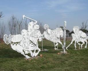 供应园林雕塑 景观雕塑 校园雕塑