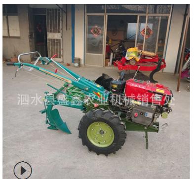 小型手扶拖拉机 18马力手扶耕田机 可带各种农机具