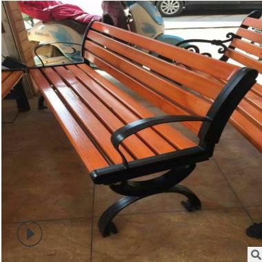 户外园林椅 厂家直销靠背公园椅 定制防腐木休闲桌椅 围树椅