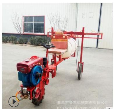 柴油三轮自走式打药机小麦玉米自走式打农药机三轮高杆喷药机价格