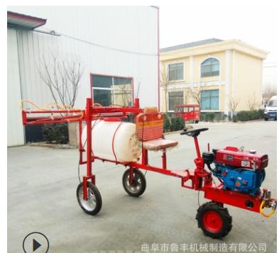 玉米高杆喷药机现货农用小麦自走式打药机三轮车自走式打药机厂家