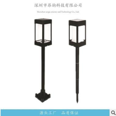 LED太阳能 方形柱子灯户外景观灯围栏栅栏 草坪插地灯壁灯多功能