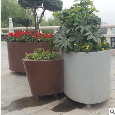专业批发 钢板花箱 混凝土花箱 庭院广场绿化花箱