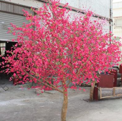 仿真大型许愿桃花树榕树商场酒店装饰仿真假树厂家直销