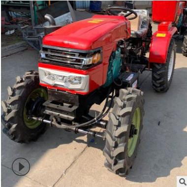 804四轮驱动大马力拖拉机 单杠小型四轮拖拉机 低矮型四轮拖拉机