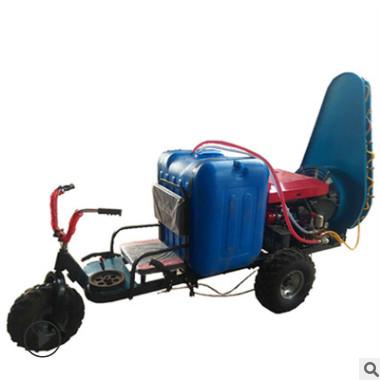 高效乘坐式果园打药机 柴油电启动塔型风送式农田园林杀虫打药机