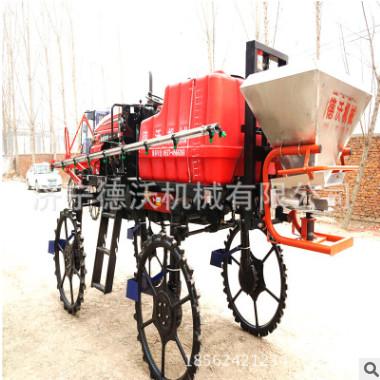 大型自走式自动喷雾打药机四轮拖拉机打药撒肥农用车水稻专用车