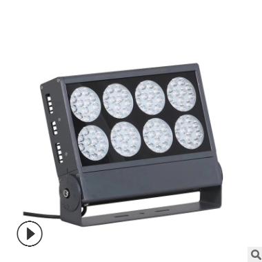 深圳厂家LED方形投光灯户外防水壁灯大功率窄光束射灯照树灯96W