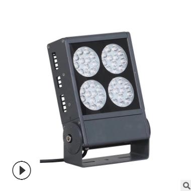 LED户外防水投光灯户外防水建筑工地照明投光灯大功率投光灯
