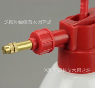 气压式喷水壶 浇花洒水壶 园艺工具喷雾器白色喷水壶