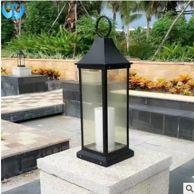 手提草坪灯LED楼梯柱头灯欧式LED花园庭院景观照明草坪灯