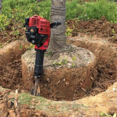 移栽断根挖树机 苗圃断根起树机 电线杆树木移栽挖坑机