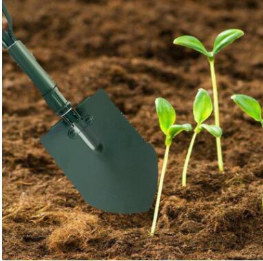 园艺工具园林不锈钢多功能折叠铁铲子工兵铲户外折叠揪园艺用品
