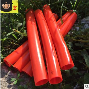 厂家供应橙色PVC塑料软管防冻牛筋管4分6分1寸家用花园水管批发