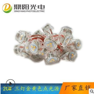 鼎阳2公分点光源led像素点光源20mm点光源二次封装点光源