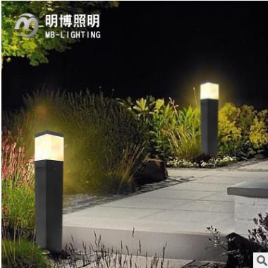 led草地灯 草坪灯 户外防水庭院灯铝制方形景观照明灯具正杰照明