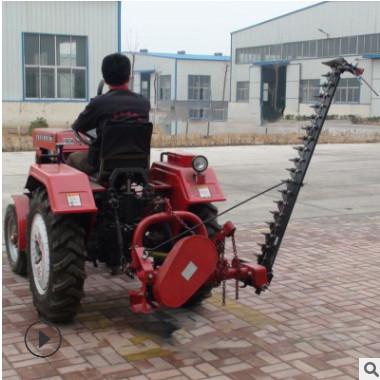 四轮后悬挂往复式割草机 牧草收获割草机 1.4米割草机