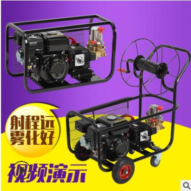 电启动汽油柴油担架式推车式高压机动农药打药机喷药机农用喷雾器