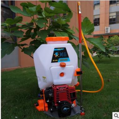 新款GX35农用四冲程背负式机动喷雾器汽油打药机高压喷药泵打药泵
