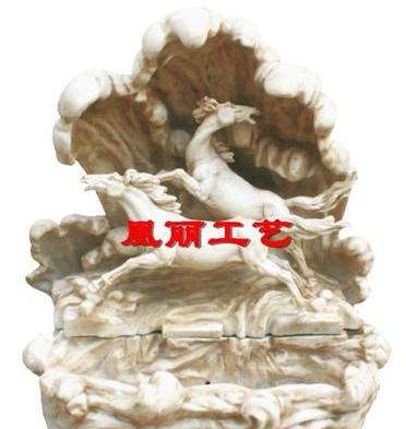 供应3A-09064直销玻璃钢喷泉喷水雕塑 景观工艺品