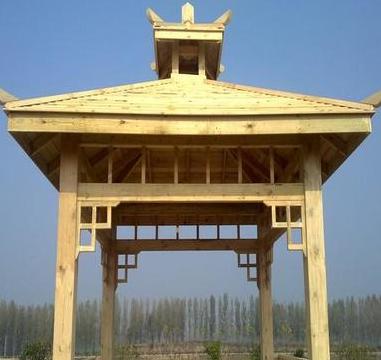 滁州防腐木加工