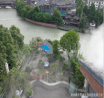 销售四川园林景观喷雾机,景观造雾机,优质创意造雾系统