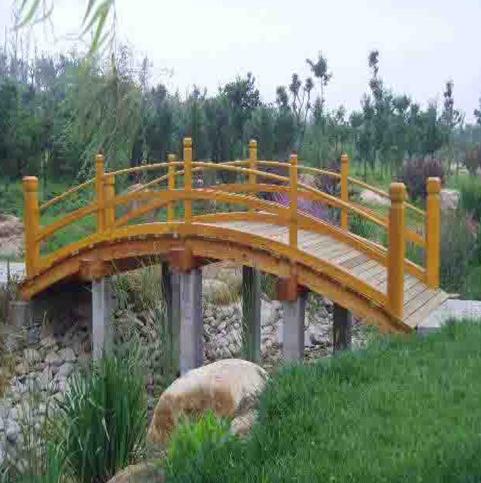宁夏防腐木木桥