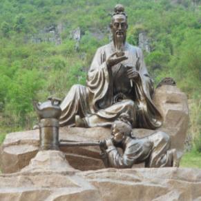 内蒙古鄂尔多斯生态文化景观雕塑