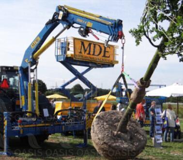 MDE装载起重机12000E4