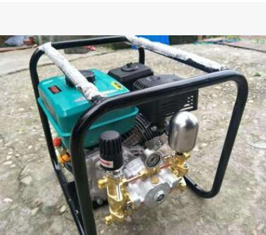 移动式手提框架直连果树汽油机打药机高压三缸柱塞泵喷药喷雾机器