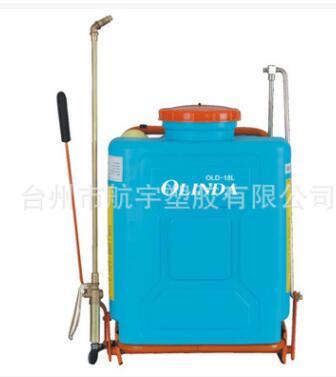 黄铜压力泵厚背负式18L农用手动喷雾器园林打药机洗车机