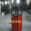 供应钢木垃圾桶/果壳箱/永康市绿诚环保桶业