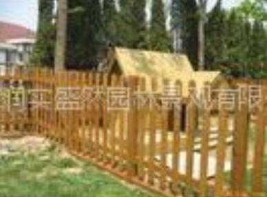 北京润实盛然供应防腐木制品、小区绿化施工、木围栏、