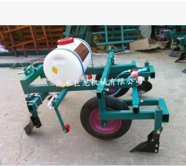 手扶拖拉机农用覆膜机 花生农作物地膜机 手扶车地膜机厂家