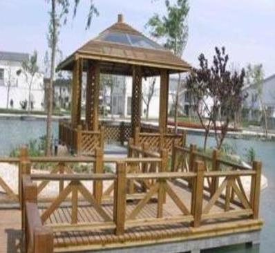 山东济南防腐木户外工程,专业的加工团队,是您最优秀的选择