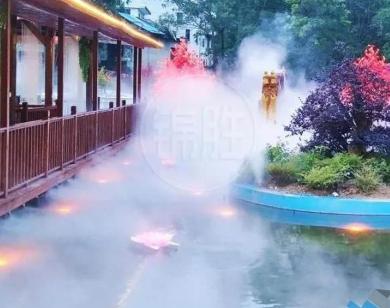 人造雾景观,高压微雾景观设备