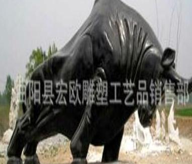 曲阳石雕 石狮子 大象雕塑 动物雕塑 沙石狗 园林雕塑 牛雕塑