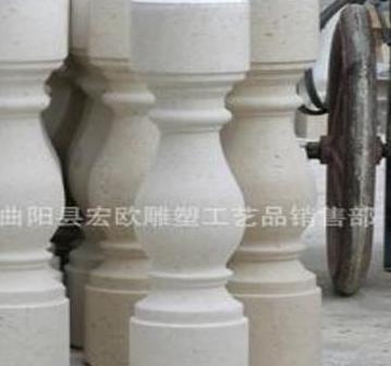 曲阳石材雕刻 大理石柱子/楼梯柱/扶手柱子/阳台柱/花瓶柱